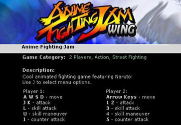 Anime Fighting Jam